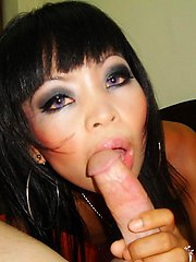 Slutty bar girl Pam comes home with a white guy and gets a huge creampie